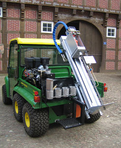 mounted soil sampler / electrical conductivity / hydraulically-operated