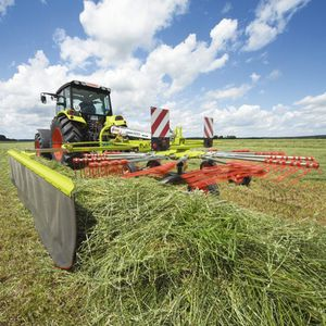 Center delivery rake, Center delivery swather rake - All the