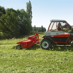 rear-mount hay conditioner / tine / 3-point hitch