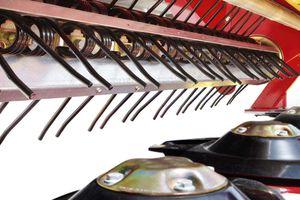 mounted hay conditioner