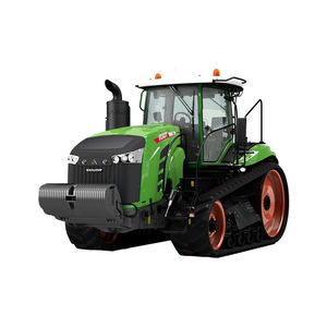 crawler tractor / with cab / 3-point hitch