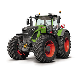 tractor with cab / 3-point hitch / front PTO