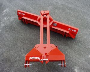 road leveler / hydraulic / front-end