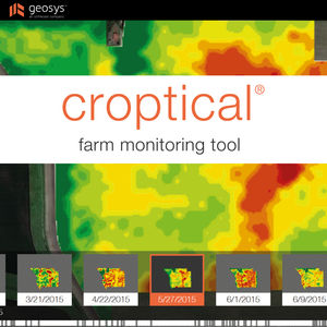 precision agriculture software / monitoring / analysis / mapping