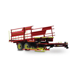 square bale stacker / trailed