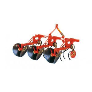 2-row ridger / 4-row / for row crops / disc
