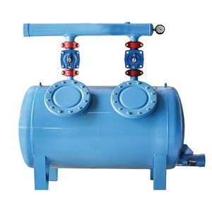 screen irrigation filter / metal / PVC