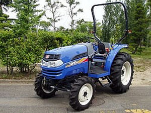 sub-compact tractor / automatic transmission / with ROPS