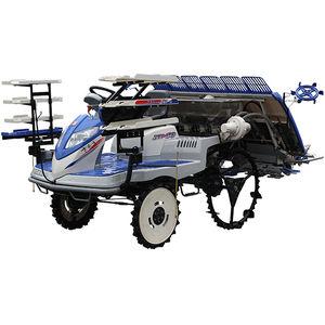 rice transplanter / manual / 6-row / self-propelled