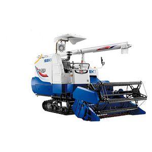 rice combine harvester / drum threshing / compact