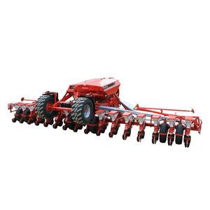 precision seed drill with fertilizer applicator