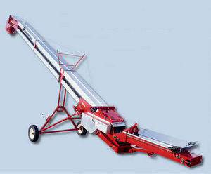 grain conveyor / belt / inclined