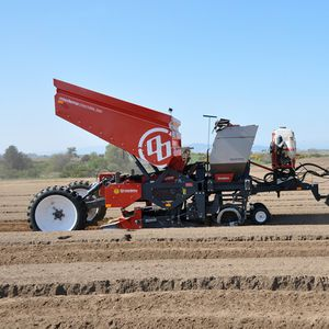 2-row precision seed drill
