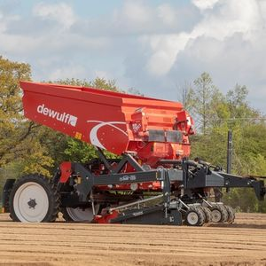 3-row precision seed drill