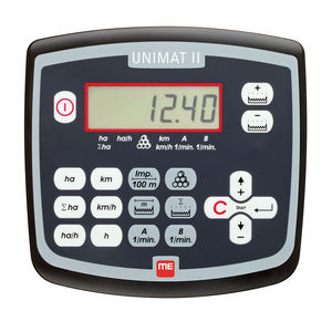 acre meter / on-board / with screen / for tractors
