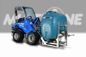 high pressure washer for livestock buildings / automatic / PTO-driven