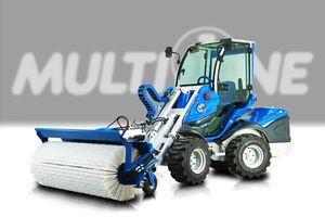 mounted sweeper / groundcare / snow removal