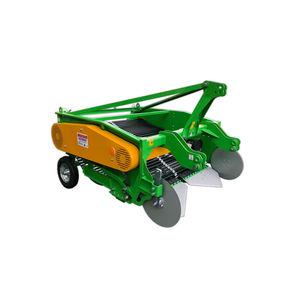 potato harvester / melon / tractor-mounted / 2-row