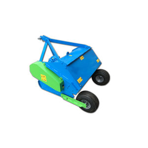 potato harvester / tractor-mounted / 1-row / topper
