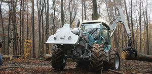 forestry tractor / mechanical transmission / specialty