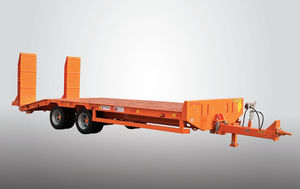 flatbed trailer / 2-axle / agricultural / 10 t ... 20 t