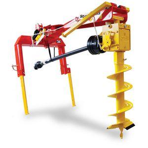 hydraulic earth auger
