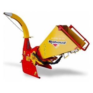 mounted wood chipper