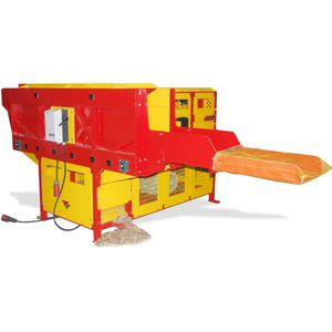 electric wood splitter / PTO-driven / gasoline engine / stationary