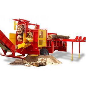 circular saw firewood processor