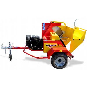 circular sawmill / vertical / portable / with belt conveyor