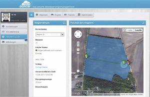 irrigation software / land parcel