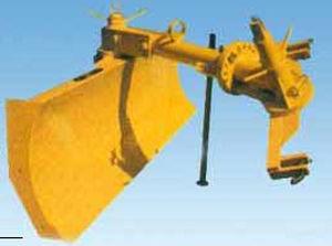 field preparation scraper blades / front-end / hydraulic