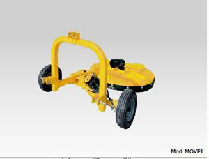 arboriculture rotary cutter / rear-mount / chain