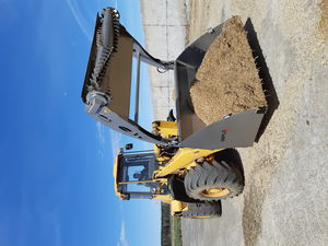 silage unloading shovel bucket
