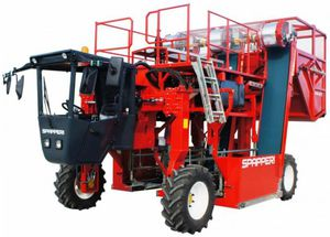 tobacco harvester / self-propelled / 2-row