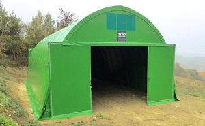 seeds and grain storage tunnel