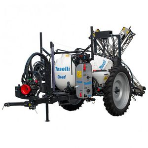 trailed sprayer / folding arms / with diaphragm pump / wide