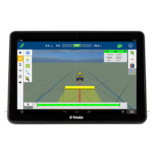 GPS / with screen / on-board / for tractors