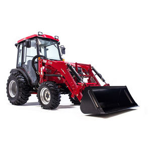 hydrostatic tractor / compact / with cab / 3-point hitch