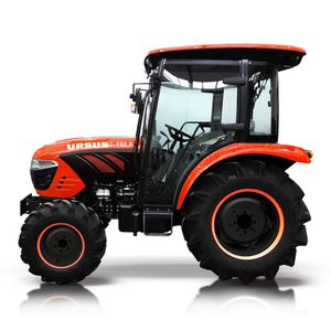 hydrostatic tractor / compact / wide / with cab