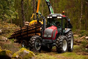 narrow tractor / forestry / synchro-shift / compact