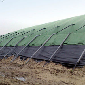 slurry tank / biogas / flexible / pressure