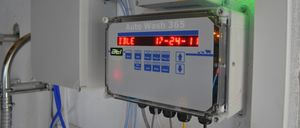 milking equipment washing system / automatic / programmable / with controller