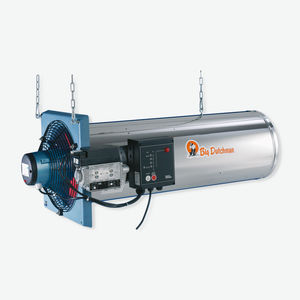 gas air heater / oil-fired / suspended / poultry house