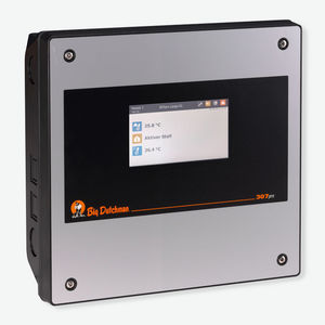 barn climate controller / for ventilation / touch screen