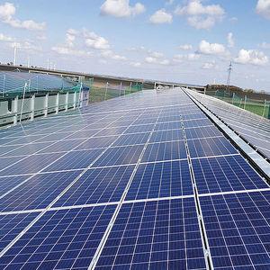 solar powred livestock building