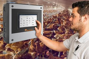 poultry house climate controller