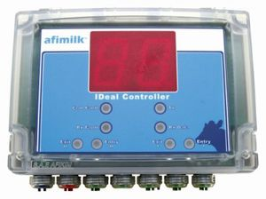 cow identification system / for milking parlours