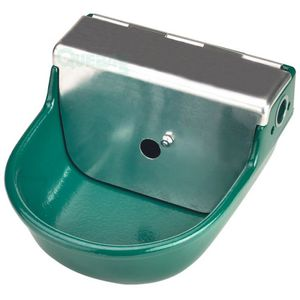 sheep waterer / for goats / bowl / steel