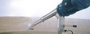 inclined slurry mixer